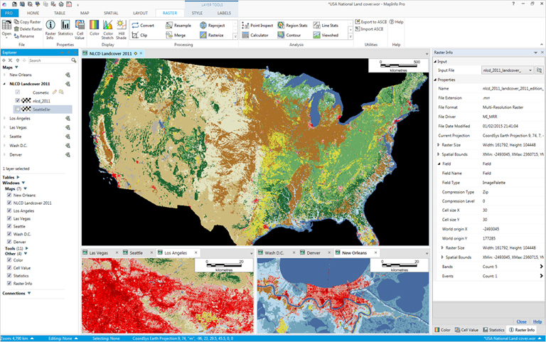 MapInfo Professional v16 Image