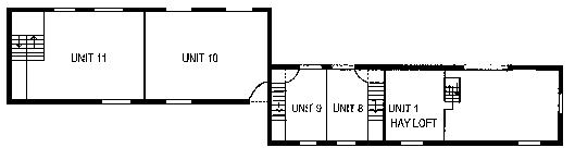First floor plan of units image