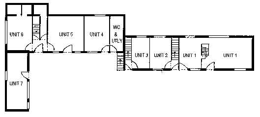 Ground floor plan of units image